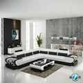 Best-seller de alta qualidade sala de estar sofá de couro conjunto
