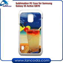 sublimation phone case for Samsung Galaxy S5 Active G870 mobile phone cover