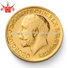 Custom enamel metal coin value for souvenir