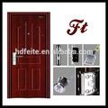 4728 nuovo stile migliore qualitàin vetro portein acciaio per esterni metallo porta di sicurezza porte