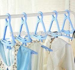 Multifunction Folding Hanger / plastic clothes Hanger