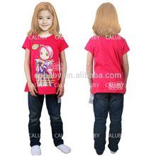 Alibaba china stylish cartoon baby 100 cotton t shirts