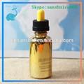 E liquido dorato bottiglia di liquorein vetro 30ml/1oz eliquidiso8317 bottiglia di vetro di liquore