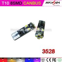 led smd t10 canbus 3528 8smd error free canbus car led