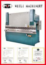 TOP OEM QUALITY!! WC67Y-100 steel cnc hydraulic press brake for sale
