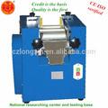 Precio competitivo de laboratorio pequeño molino de tres rodillos/máquina de pulir para camallia semilla