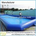 Venda quente pvc resistente 0.9mm quadrados piscina