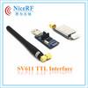 2014 NiceRF 1.4KM 100W TTL Interface 433mhz SV611 Wireless Tansceiver Module Wireless RF Module Wireless Module