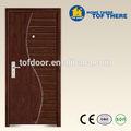 zhejiang projeto simples de madeira compensada do folheado porta