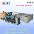 bajo precio 3 toneladas de contenedores en bloque de hielo fabricante de la máquina