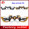 2.4Ghz 4 CH 6 Axis RC Drone Quadcopter With LCD Transmitter RTF