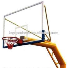 Polycarbonate basketball backboard