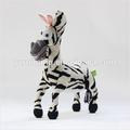 Animale giocattolo della peluche& bianco e nero cavallo& giocattolo farcito ingrosso