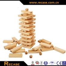Kids intellect toys jenga stackers stacking block game
