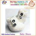 guangzhou nombre de marca de la mano de punto bebé botines