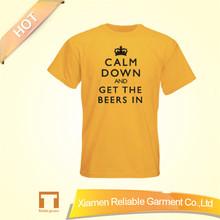 2015 Custom t shirt wholesale cheap supply by china factory