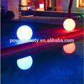 Exterior a prueba de agua iluminada piscina flotante bola de luz led