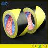 Yellow black pvc underground cable warning tape