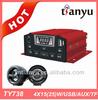 Audio Motorcycle Radio MP3 Amplifier Speaker System Handlebar Speakers 12V NEW