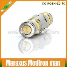 2014 Alibaba express wholesale ecigarette huge vapor maraxus mod maraxus clone iron man full mechanical