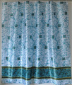 Chino tela del poliester cortina de la ducha de flores patrón/a prueba de agua de ducha de pl&a