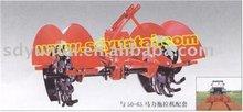 ditching machine rotary plow