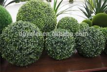 2014 caldo- la vendita di nuovi artificiali stile legno di bosso palla erba topiaria