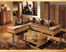 Rattan Life living room fancy rattan corner sofa