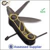 Survival camping plastic & aluminum pocket knife/pocket gun tool