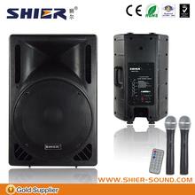 BK15-303 15''6w stereo cara membuat speaker aktif mini