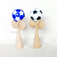 Wholesale Top Quality Football Wooden Kendama Toy For Sport Games