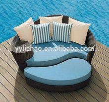 outdoor patio rattan furniture sun sofa bed