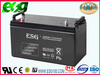 lead acid 100ah 12v Dry deep cycle acid batteries