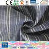 fashion shirt garment yarn dyed 100% cotton stripe fabric