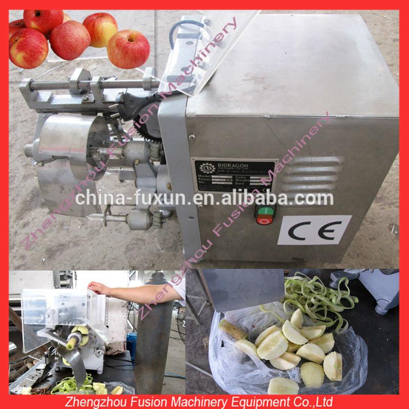 Kaliteli yeşil elma kabuğu özü salata kesici makine elma soyucu ve