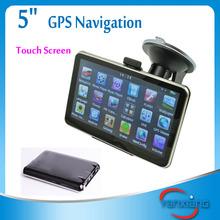 5 inch handheld gps navigator Mediatek MT3351C Card GPS Navigator with Bluetooth and AVIN RW-GN03