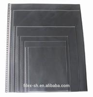 clear plastic folder sheet protectors