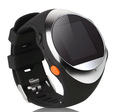Multi-functional Mini Personal SOS Button Watch GPS Tracker With SIM Card Slot Built-in MP3 Player