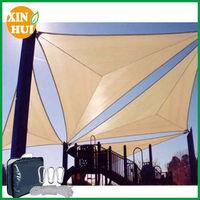 plastic 100% HDPE waterproof shade sailin china