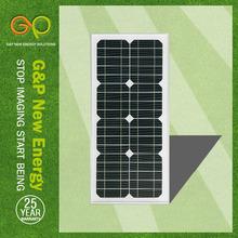 TUV,IEC,CE,ISO,MONO crystalline photovoltaic solar panel 35 watt