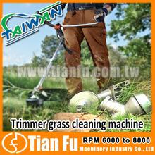 Trimmer grass cleaning machine
