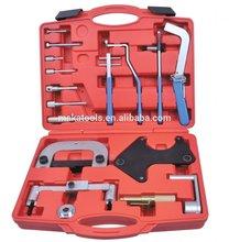 17 piezas del motor de la correa dentada de la cadena de bloqueo alighment herramienta para opel renault volvo