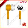 custom earphone in bulk for wholesaler