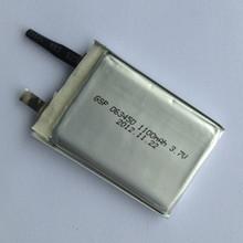 Li- batteria a polimeri 3.7v batteria al litio ricaricabile peril sistema solare