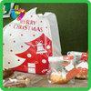China Yiwu hdpe Christmas custom plastic bag shopping