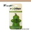 Green Dog Bag Dispenser with 1Roll Eco-friendly Biodegradable Pet Waste Bag-9 x13'',0.7mil,15pcs