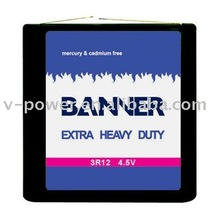 Extra Heavy Duty 3R12 battery