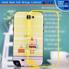 2014 New Design Bumper Case For Galaxy Note2 N7100,TPU Bumper Case For Samsung