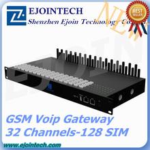12 Months Warranty!!! Ejoin NEW 32 port / channel 128 Sim 3g wcdma 900mhz GSM Goip gateway Voip Gateway