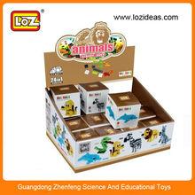 LOZ Plastic Miniature Animal Figures for children/adult